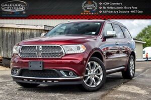 2017 Dodge Durango Citadel|AWD|6Seater|Navi|Sunroof|DVD|Backup C