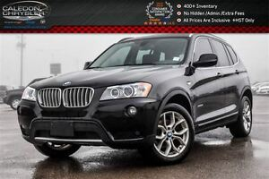 2014 BMW X3 xDrive28i|Pano Sunroof|Backup Cam|Bluetooth|Heated