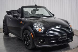 2013 MINI Cooper Decapotable CONVERTIBLE CUIR AC MAGS