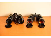 Two pairs of binoculars - Please read advert
