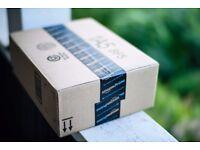 Missing Amazon box left on Train reward for return