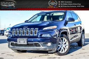 2016 Jeep Cherokee Limited|Backup Cam|Bluetooth|Leather|R-Start|