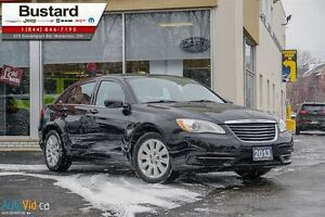 2013 Chrysler 200 LX | AUTO | KEYLESS | 4CYL | GAS MISER!