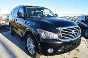 2012 Infiniti QX56 7 Passenger Tech Package 2 Sets of Rims and T