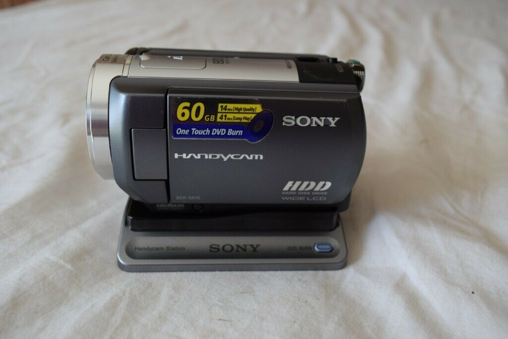 Sony DCR-SR70 HDD Camcorder and carry case | in Newtownards, County Down |  Gumtree