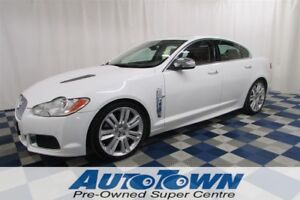 2010 Jaguar XF XFR SUPERCHARGED/NAV/LEATHER/REAR CAM/SUNROOF