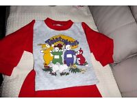 Teletubbies Baby's Pyjamas, to fit approx age 1 year, Histon