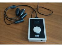 Apogee Duet 2 ONLY USED FOR ONE WEEK as new