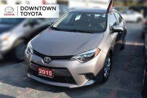 2015 Toyota Corolla LE, 1 OWNER, NO ACCIDENT