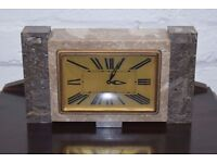 Art Deco Mantle Clock (DELIVERY AVAILABLE)