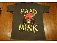 Mens Terratag Maad Mink T-Shirt Medium (Grey/Red/Yellow)