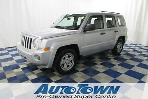 2010 Jeep Patriot ***LOW KM** CLEAN HISTORY/LEATHER INTERIOR/ROO