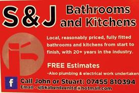 S & J Bathroom and Kitchens