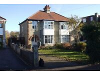 Large UNFURNISHED 3 bed house in Green End Road available NOW for family or group share