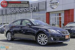 2009 Lexus IS 250 A.W.D.-ACCIDENT FREE WITH UNDER 65000KM'S!!!!