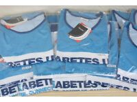 24 x Official Diabetes UK Running Vest Singlets Jersey Bundle Job Lot Men & Women Various NEW