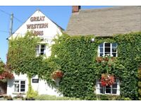 Couples / waiting / kitchen staff required / Live-in /Great Western Arms, Aynho
