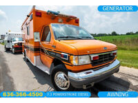 1996 Ford Ambulance motor home Used 7.3 powerstroke camper office generator