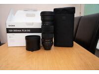 Sigma 120-300 f2.8 DG Sport Nikon Fit- like new