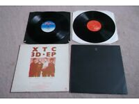XTC 12 Inch Singles : 3D EP And GO+