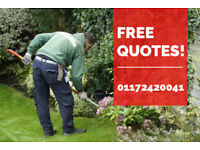 Gardening Services for All Bristol Residents | Affordable Prices! Free Quotes!