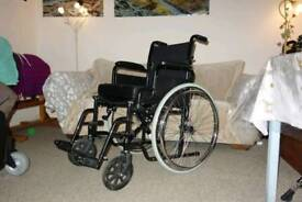 *PRICE DROPPED* Self propelled wheelchair - with memory foam wheelchair cushion.