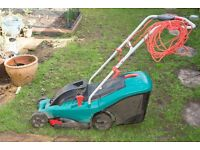 Bosch Rotak 1400watt lawnmower - Excellent Condition 34cm