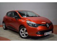 RENAULT CLIO 1.5 EXPRESSION PLUS ENERGY DCI ECO2 S/S 5d 90 BHP (red) 2015