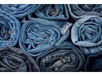 mixed bag of womens jeans size 8-12