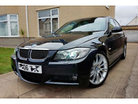 BMW 325i M Sport 4dr Saloon Auto 2006 - ║ Low Mileage ║ Sat Nav ║ Keyless ║ Excellent Condition