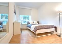 Lovely, light and large double room in newly refurbished 4 bed! Can't view? Arrange a Skype chat!