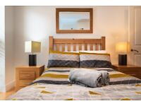 Serviced Accommodation for contractors. Prices are advertised on a per night basis.