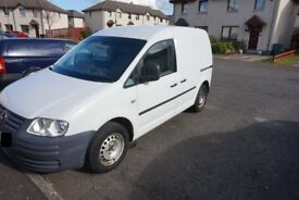 VW Caddy for sale. 1 prev owner, MOT'd to Oct 2018