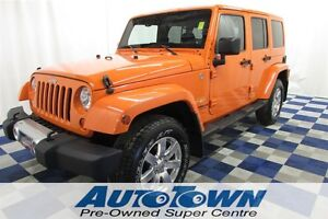 2012 Jeep WRANGLER UNLIMITED Sahara LOCAL/A.C./HTD SEATS