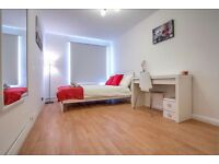 Looking for a room in a two bed flat with great transport links?