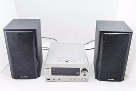 Sharp XL-HF401 Micro HiFi system with iPod doc and USB playback