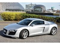 MUST BE SEEN EXAMPLE OF THE R8, FASH, HIGH SPEC WITH MANY EXTRAS FROM FACTORY