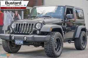 2014 Jeep Wrangler Sport     3 SETS OF WHEELS   HARDTOP