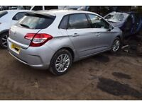 2011 CITROEN C4 VTR+ 1.6 PETROL MANUAL BREAKING