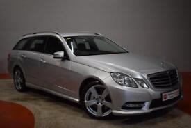 MERCEDES-BENZ E CLASS E350 CDI BLUEEFFICIENCY AVANTGARDE AUTO 5 Door Est (silver) 2012
