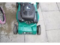 petrol lawn mower selling as spares/repairs unable to start it