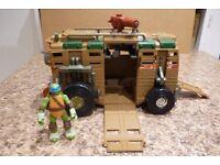 Teenage Mutant Ninja Turtle Shellraiser Vehicle & TMNT Leonardo Character