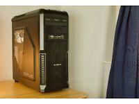 GAMING PC: AMD Phenom II X6 1100T/GTX660/SSD 128GB/12GB RAM/ in ZALMAN Z3 Plus Case