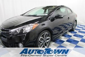 2014 Kia Forte Koup TURBO SX LOW KM!!/ALLOY/RV CAM/CRUISE/ SAT