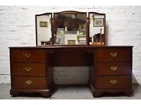 stag dressing table (DELIVERY AVAILABLE)