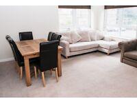 Ground floor, modern 3/4 bedroom flat - unfurnished
