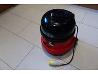 🌟 Industrial 110v Twin speed Henry vacuum cleaner.🌟