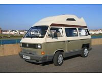 T25 VW CamperVan internally refitted with all the best features and significant mechanical upgrade