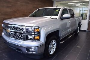 2015 Chevrolet Silverado 1500 Crew 4x4 LT / Short Box Loaded,ONE