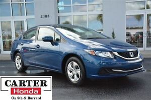 2014 Honda Civic LX + LOW KMS + LOCAL + CERTIFIED 7YRS/160000KMS